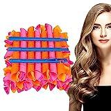 HALOVIE Lockenwickler Curler 40 Stück,Haar Locken Curler Ohne Hitze Machen,Haar-Styling-Tools für Langes Mittellanges Haar,55cm für Damen