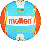 Molten Beachvolleyball Gr. 5 Ball, Blau/Weiß/Orange, 5