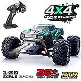 VATOS Ferngesteuertes Auto RC Buggy RC-Monstertruck 4WD 2.4 GHz Geländewagen 26 km/h im Maßstab 1:20 Elektro-Rennwagen RC Buggy Elektrisches Hobbyauto Spielzeug für Kinder Erwachsene (9145 Auto)