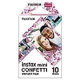 Fujifilm instax Mini Confetti Glass Film, Bunt metallic