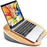 HUANUO Laptopkissen für Bett mit Kabelloch & Anti-Rutsch Streifen für max. 15,6 Zoll Notebook, Tablet