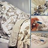 PinionPins Magnetische Bettwäsche-Clips. (8pro Pack: für 2Betten.) Stärker als traditionelle Haltebänder zum Befestigen von Bettwäsche., farblos, 8