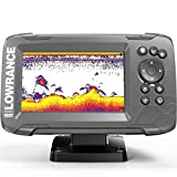 Lowrance 000-14016-001 Hook2 GPS Splitshot HDI, Fischfinder, 12,7 cm (5 Zoll) Schwarz