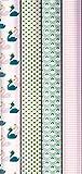Clairefontaine 211415AMZC - Packung mit 12 Rollen Geschenkpapier Excellia 2 m x 70 cm, 80g, 1 Pack, Swan, Motive sortiert