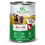 Müllers Naturhof | Rind und Ente | 6 x 400 g | Nassfutter für alle Hunderassen | getreidefrei und glutenfrei | mit Gartengemüse und Wiesenkräutern | naturnahe Rezeptur mit 65% Fleisch