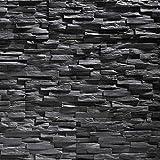 EPS-Schaumstoff Verblendstein UltraLight - Benevento/Wanddekoration/Fliesen/Verblendstein/Wandplatten (Anthracite)