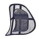 SiaMed 2X Lordosenstütze - Rückenstützen für Arbeit, Büro und Auto - Rückenkissen zur Haltungskorrektur
