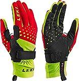 LEKI Nordic Race Shark - red Yellow Black - Langlauf Handschuhe mit Trigger S Shark, Handschuhgröße Reusch & Fischer:10.5
