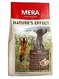 MERA Nature's Effect, Getreidefreies Hundefutter, Premium Trockenfutter für Hunde mit Rind, Äpfeln, Karotten und Kartoffeln