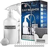 Medi Grade Ohr Reinigung - 16-in-1 Ohrenschmalz Entferner - Sichere Pumpe zum Ohrenschmalz Entfernen - Umweltfreundliches Ohrreinigungs - Set - Verbessert das Hören