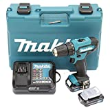 Makita DF333DSAE Akku-Bohrschrauber 12 V max. / 2,0 Ah, 2 Akkus + Ladegerät im Transportkoffer, 10.8 V