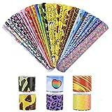 VABNEER Schnapparmband Kinder Schnapparmband klatscharmband Kinder Für Kinder Jungen Mädchen Erwachsene (30 Stück)
