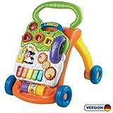 VTech Baby 80-077064 - Spiel und Laufwagen, Normalverpackung, Bunt-Grün/Orange