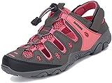 Trekkingsandalen Geschlossene Damen Sandalen Atmungsaktiv Outdoor Sport