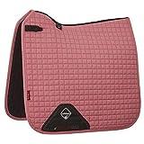 LeMieux ProSport Suede Dressage Square Dressurschabracke, Blush Pink, S/M