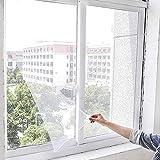 Insektenschutzrollo Magnet Fliegengitter Tür Insektenschutz Expert Schiebetür Fliegengitter Magnetischer Fliegenvorhang Moskitonetz Automatisches Schließen für Balkontür Fenster, 130 cm * 150 cm