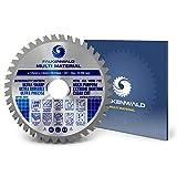 FALKENWALD ® Sägeblatt für Winkelschleifer 125mm - Ideal für Holz, Alu & Kunststoffe - Sägeblatt für Flex - Universal Trennscheibe Holz 125 x 22,23 mm