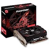 PowerColor AMD Radeon RX 550 4GB Red Dragon Grafikkarte