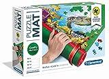 Clementoni 30229 Puzzlerolle, praktische Unterlage für Puzzles bis 2000 Teile, einfache Aufbewahrung & Transport, Puzzlematte aus Filz, für kleine Puzzle-Experten ab 6 Jahren