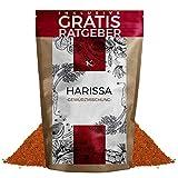 Harissa Gewürzmischung 250g scharfes Gewürz Pulver inkl. gratis Ratgeber I hochwertige nordafrikanische Spezialität zur Herstellung von Harissa Paste