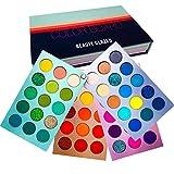 Beauty Glazed Meet You Match 60 Farben Schimmer Matt und Glitter Lidschattenbehälter Weiche cremige Textur Mischbare langlebige Farbkarte Reisegröße Wasserdichte Lidschatten-Make-up-Palette
