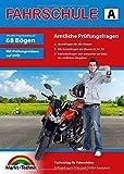 Führerschein Fragebogen Klasse A, A1, A2 - Motorrad Theorieprüfung original amtlicher Fragenkatalog auf 68 Bögen