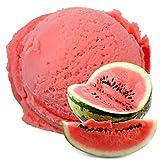 Wasser Melone Geschmack 1 Kg Gino Gelati Eispulver für Fruchteis Softeispulver Speiseeispulver