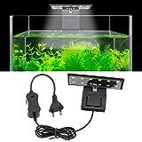 SENZEAL X3 Aquarium LED Beleuchtung Waage Aquarium Lampe Höhe Helligkeit LED Licht 220V 6W 600LM für 8 bis 15 Zoll Fisch Tank Weißes Licht