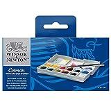 Winsor & Newton Aquarellfarbe, Wasserfarben, 12 Farben, Sketchers Pocket Box