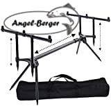 Angel-Berger Session Rod Pod mit Tasche