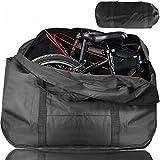 ODSPTER Fahrrad Transporttasche Klapprad Tasche Tragetasche Fahrrad Transport Abwahrungstasche für 14'- 20' Faltrad (schwarz)