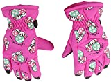 Spielzeug Toy EIN Paar Winterthermal Skihandschuh Breath for Kind 2 □ 4 Jahre, Farbe:?? Rot Spielzeug (Color : Pink)