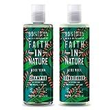 Faith in Nature Aloe vera - Shampoo 400ml and Conditioner 400ml