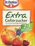 Dr. Oetker Gelierzucker Extra 2:1, 7er Pack (7 x 500 g)