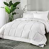 Bedsure Leichte Sommerdecke 135x200cm Dünne Steppdecke Bettdecke, Super Weiche und Atmungsaktive Schlafdecke für Sommer, Oeko-Test Zertifiziert für Allergiker geeignet