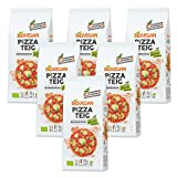 Biovegan - Pizzateig Backmischung - 300 g - 6er Pack
