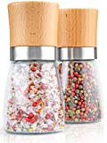 Hannah's Homebrand® Salz und Pfeffermühle mit Keramik-Mahlwerk (härter als Stahl) - Ohne Gewürzinhalt - deutsche Marke