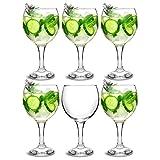 bar@drinkstuff Essence Gin-Ballongläser, für Cocktails, 645ml, 6Stück