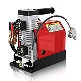 GX Tragbarer PCP Luft Kompressor, 4500Psi / 30MPa, ölfrei, Angetrieben durch 12V DC Autobatterie oder Haus 220V AC,Paintball und Tauchflaschen kompressor/scuba luftkompressor