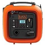 Black+Decker 11.0 Bar/12V-Kompressor/ Luftpumpe (160PSI, für Reifen, Bälle, Rollstühle, Etc., mit 2 Betriebsarten und Abpump-Modus, ASI400, 12 V)