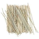 Schaschlik-Spieße aus Holz   Holzspieße   Grillspieße   20cm lang, Ø 3mm breit   100 Stück
