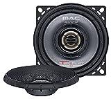 Mac Audio Star Flat 10.2 - ultraflacher 2-Wege Koaxial Einbaulautsprecher, Car HiFi LS:Koaxial-100mm