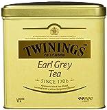 Twinings Earl Grey Schwarztee ∙ Große Dose ∙ Hochwertiger Schwarzer Tee lose ∙ Mit Bergamotte Aroma ∙ Tea 1er Pack (1 x 500 g)