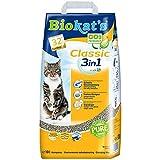 Biokat's 3 in 1 Classic - Ohne Duft Katzenstreu, 10 L