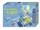 KOSMOS 620530 Easy Elektro - Light. Erste elektrische Stromkreise. Spielerisch die Elektrizität entdecken. Experimentierkasten zu Elektrotechnik.