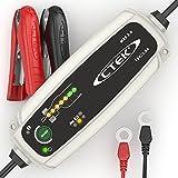 CTEK MXS 3.8 Vollautomatisches Ladegerät mit Countdown-Display (Ladung, Erhaltungsladung und Instandsetzung von Auto- und Motorradbatterien) 12V, 3,8 Amp – EU Stecker