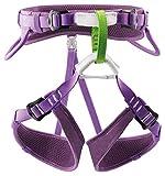 PETZL Mädchen Verticality Sitzgurt, violett, one Size