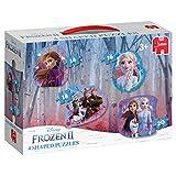 Frozen 2-4in1 Konturenpuzzle 8/10/12/14 Teile
