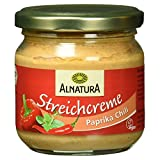 Alnatura Bio Streichcreme Paprika-Chili, 6er Pack (6 x 180 g)