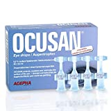 Ocusan® EDO Augentropfen in Einzeldosen Mit Hyaluronsäure und Ohne Konservierungsstoffe I Hilft gegen trockene, rote Augen und juckende Augen   Kontaktlinsen Geeignet